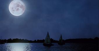 Żeglowanie nocą na jeziorze – ale jak?