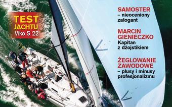 """Okładka grudniowego numeru """"Żagli"""" 12/2013"""