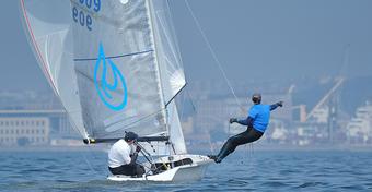 Klasa 505 wystartowała na regatach w Gdyni