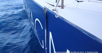 Vendee Globe: jacht Ruyanta pęka na pół!