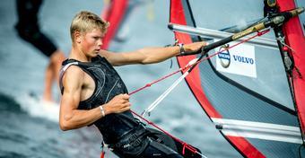 Radek Furmański został mistrzem świata juniorów w windsurfingu!